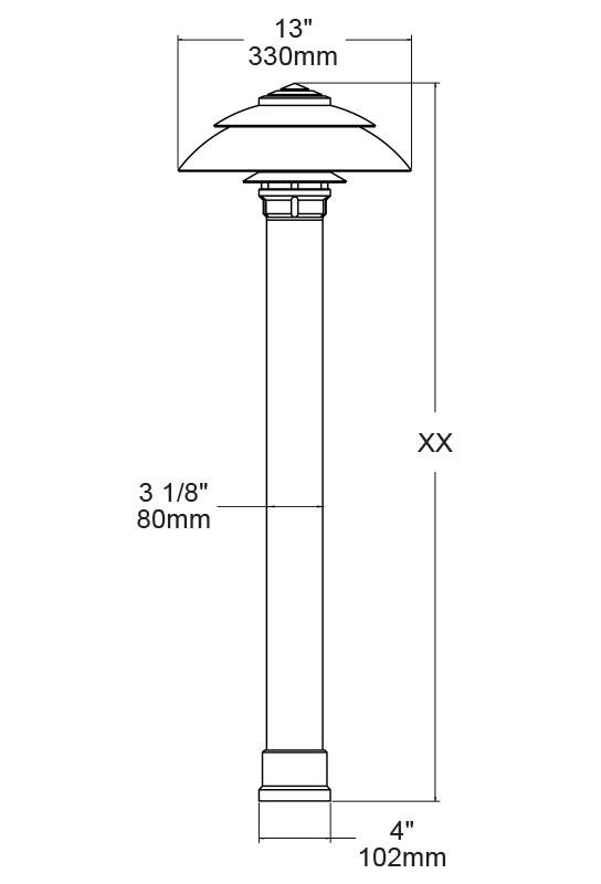 Product Name LBD400-S13-GTL Domus and SKU LBD400-S13-GTL